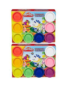 play-doh-playdoh-16-tubs-doughhellipvalue-deal-2x8-tubs