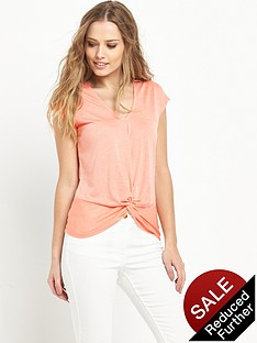 v-by-very-knot-front-jersey-t-shirt