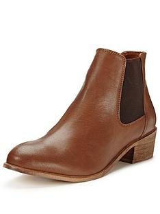 v-by-very-dove-leather-low-heel-elastic-boot