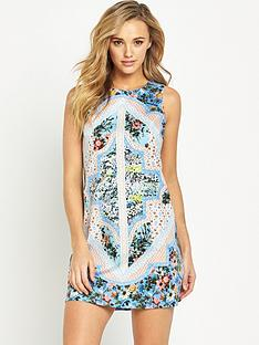 oasis-patchwork-chintz-shift-dress