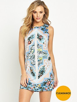 oasis-patchwork-chintz-shift-dress