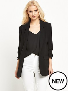 warehouse-warehouse-crepe-blazer