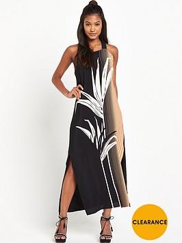 warehouse-palm-print-pinifore-dress