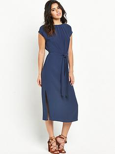 warehouse-knot-front-midi-dressnbsp