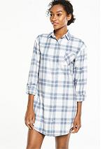 Check Boyfriend Sleep Shirt