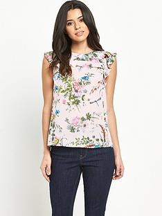 oasis-tropical-tex-frill-top