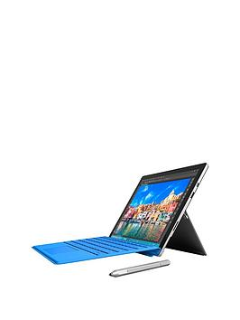 Microsoft Surface Pro 4 Intel&Reg Core&Trade I5 Processor 4Gb Ram 128Gb Storage WiFi 12.3 Inch Tablet With Cover