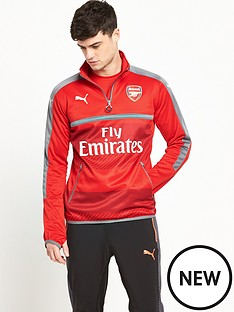 puma-puma-arsenal-mens-1617-training-14-zip-top