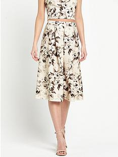 miss-selfridge-floral-midi-skirt