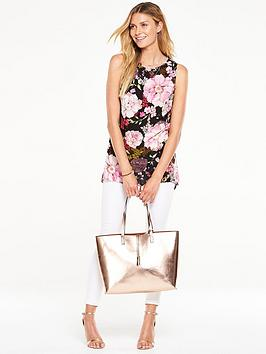 v-by-very-floral-dipped-side-sleeveless-blousenbsp