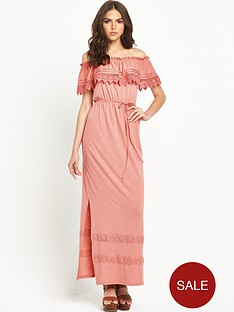 miss-selfridge-crochet-bardot-maxi-dressnbsp