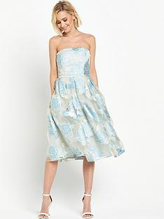 miss-selfridge-bandeau-burnout-organza-midi-dress