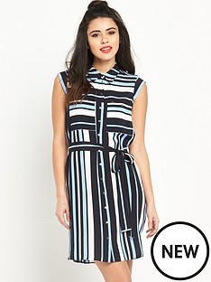 miss-selfridge-miss-selfridge-stripe-shirt-dress