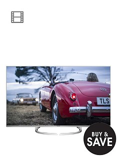 panasonic-50dx750b-50-inch-4k-ultra-hd-hdr-3d-smart-led-tv-with-freeview-hd-and-art-of-interior-tailored-switch-designnbsp--save-pound100-on-ub700ebknbsp4k-uhdnbspblu-ray-player-krmna