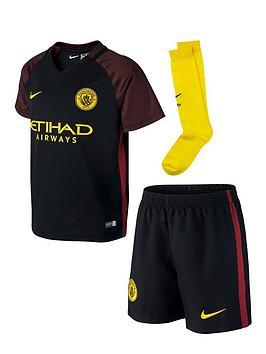 Nike Nike Manchester City Fc 201617 Little Boys Away Kit
