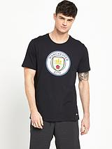 Nike Mens Manchester City Crest Tee