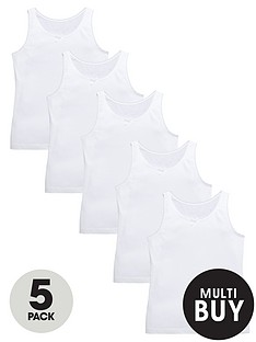 v-by-very-girls-white-school-vests-5-pack