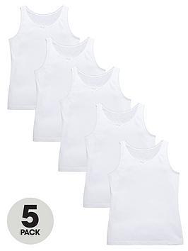 v-by-very-girls-white-school-vests-5-pack