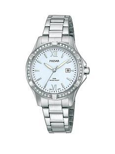 pulsar-ladies-stainless-steel-sports-watch
