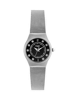rotary-rotary-black-austrian-crystal-dial-mesh-bracelet-ladies-watch