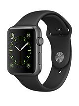 Watch Sport 42mm Space Grey Aluminium Case with Black Sport Band