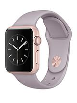 Watch Sport 38mm Rose Gold Aluminium Case with Lavender Sport Band
