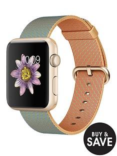 apple-watch-sportnbsp42mm-gold-aluminium-case-with-royal-blue-woven-nylon