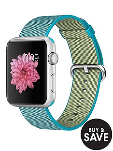 apple-watch-sportnbsp42mm-silver-aluminium-case-with-scuba-blue-woven-nylon