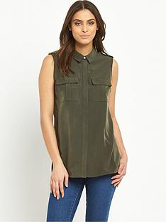 v-by-very-sleeveless-utility-blousenbsp