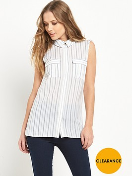 v-by-very-sleeveless-utility-blouse