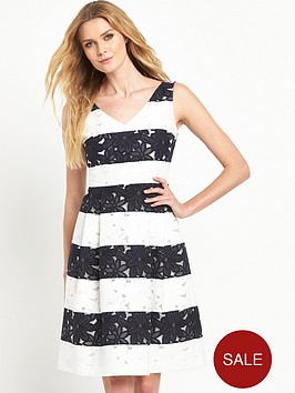 phase-eight-lace-stripe-dress