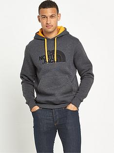 the-north-face-drew-peak-mens-pullover-hoodie-dark-grey-heather