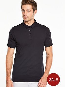 v-by-very-short-sleeve-studded-jersey-polo