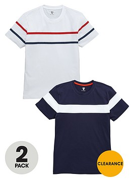 v-by-very-chest-stripe-t-shirts-2-pack