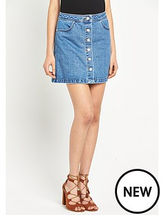 miss-selfridge-miss-selfridge-button-mini-denim-skirt