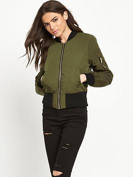 miss-selfridge-bomber-jacket