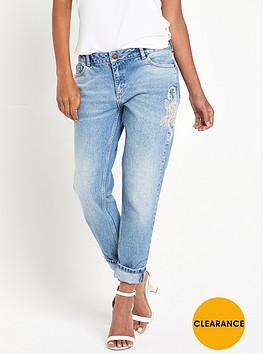 miss-selfridge-rose-embellished-kitty-jeans