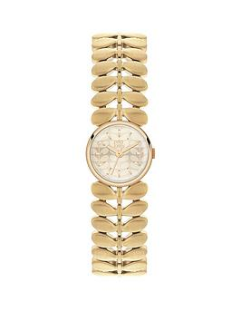 orla-kiely-orla-kiely-laurel-silver-dial-stainless-steel-bracelet-ladies-watch