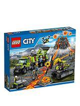 Volcano Exploration Base 60124 & FREE LEGO City Brickmaster*