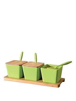 berghoff-bamboo-fibre-square-10-piece-serving-jar-set