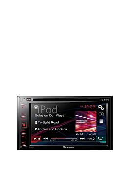 Pioneer Avh280Bt Double Din Bluetooth Cd  Dvd Player Car Stereo