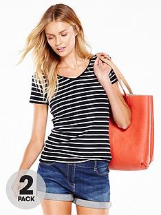 v-by-very-2-pack-v-neck-rib-t-shirtsnbsp