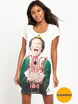 elf-omg-santa-sleep-shirt