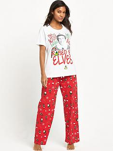 elf-omg-santa-pj-set