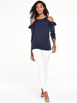 v-by-very-frill-cold-shoulder-topnbsp