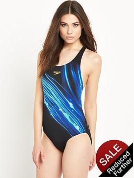 speedo-fastdivenbspplacement-powerback-swimsuitnbsp