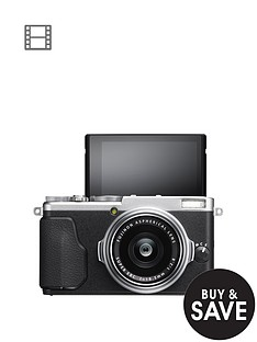 fuji-fuji-finepix-x70-163mp-camera-silver
