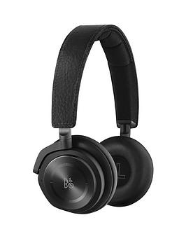 B&O Play By Bang &Amp Olufsen H8 Active Noise Cancelling OnEar Headphones  Black Leather