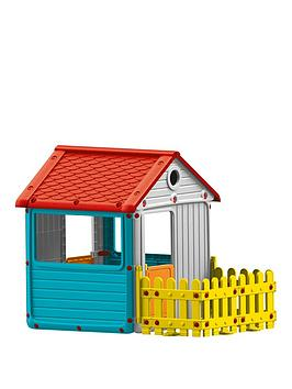 play-house-with-fence