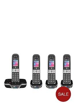 bt-8600-quad-landline-telephone-pack-with-answer-machine-and-advanced-callblocker